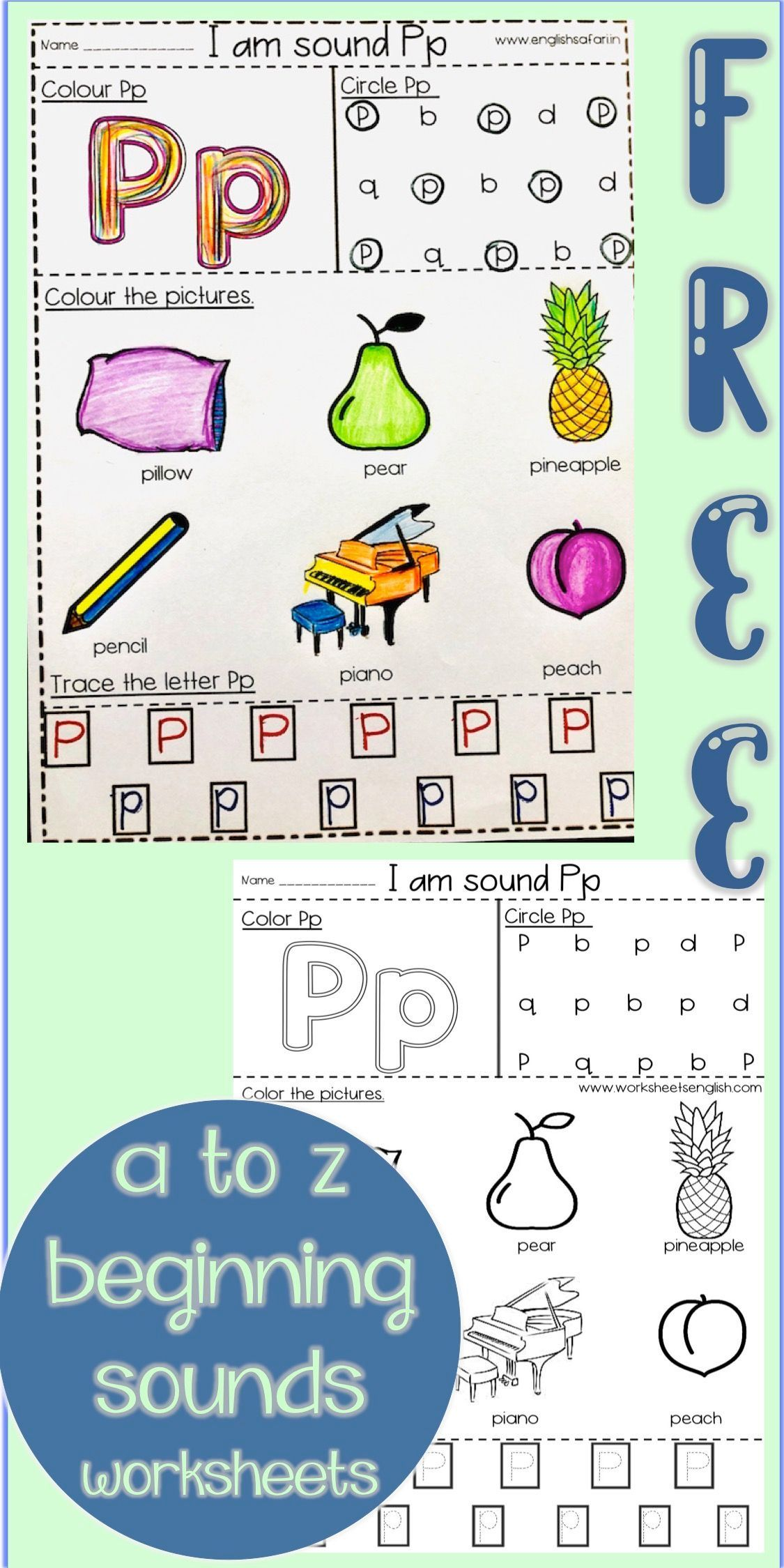 Beginning Sounds Worksheet Pack A Z Www Worksheetsenglish Com In 2021 Beginning Sounds Worksheets Beginning Sounds Phonics Sounds [ 2249 x 1125 Pixel ]