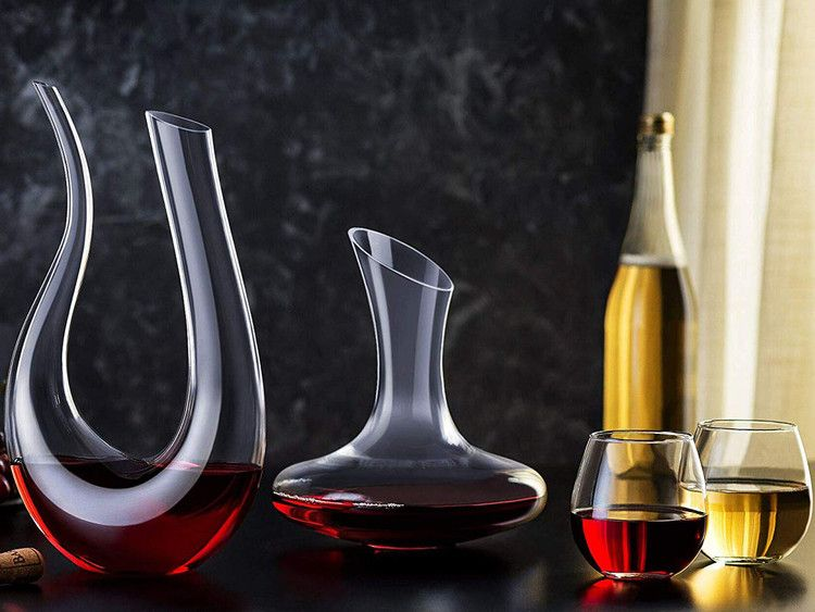 These Elegant Stemless Wine Glasses Have Over 1 000 Rave Reviews On Amazon Food Wine Stemless Wine Glasses Wine Carafe Wine Decanter