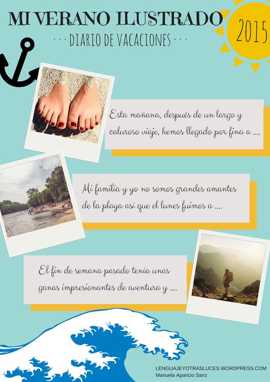 Mi diario de verano. #diariodeveranodeledda 2016 – ProfeVio