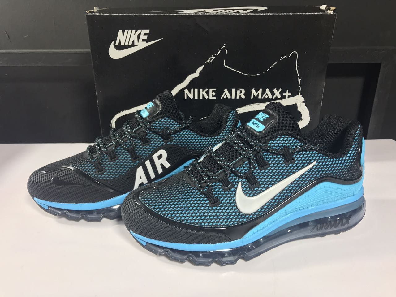 sale retailer 92380 9ad02 Men s Nike Air Max 2018 Elite KPU TPU Shoes Black Jade