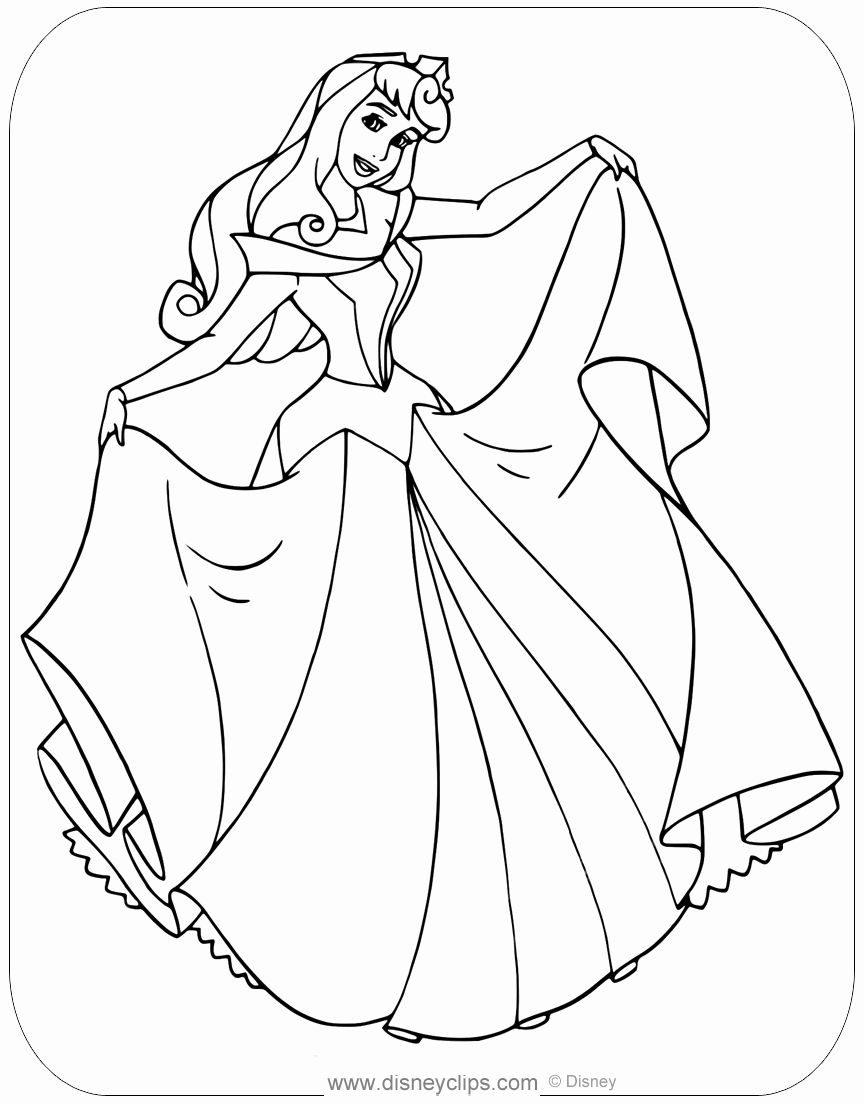 32 Sleeping Beauty Coloring Page Sleeping Beauty Coloring Pages