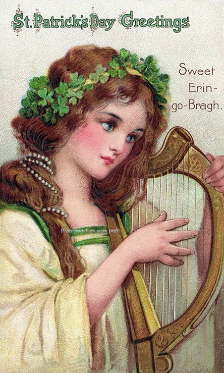 postcard.quenalbertini: Vintage St. Patrick's Day card