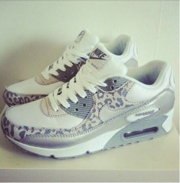 Grey Nikeairmax Sneakers Airmax Shoes White Leopard Nike wI5RqE