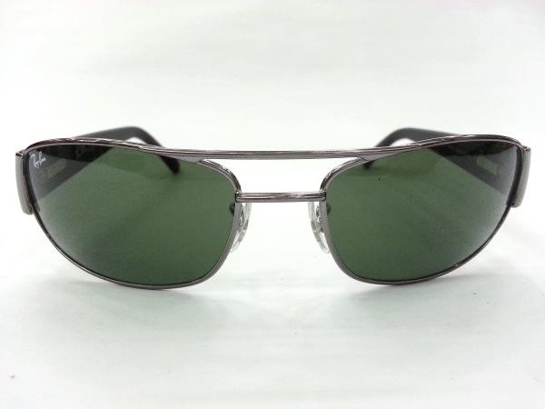 36bac25a43 Ray-Ban RB3052 W3127 Size60 Grey Metal Sunglasses