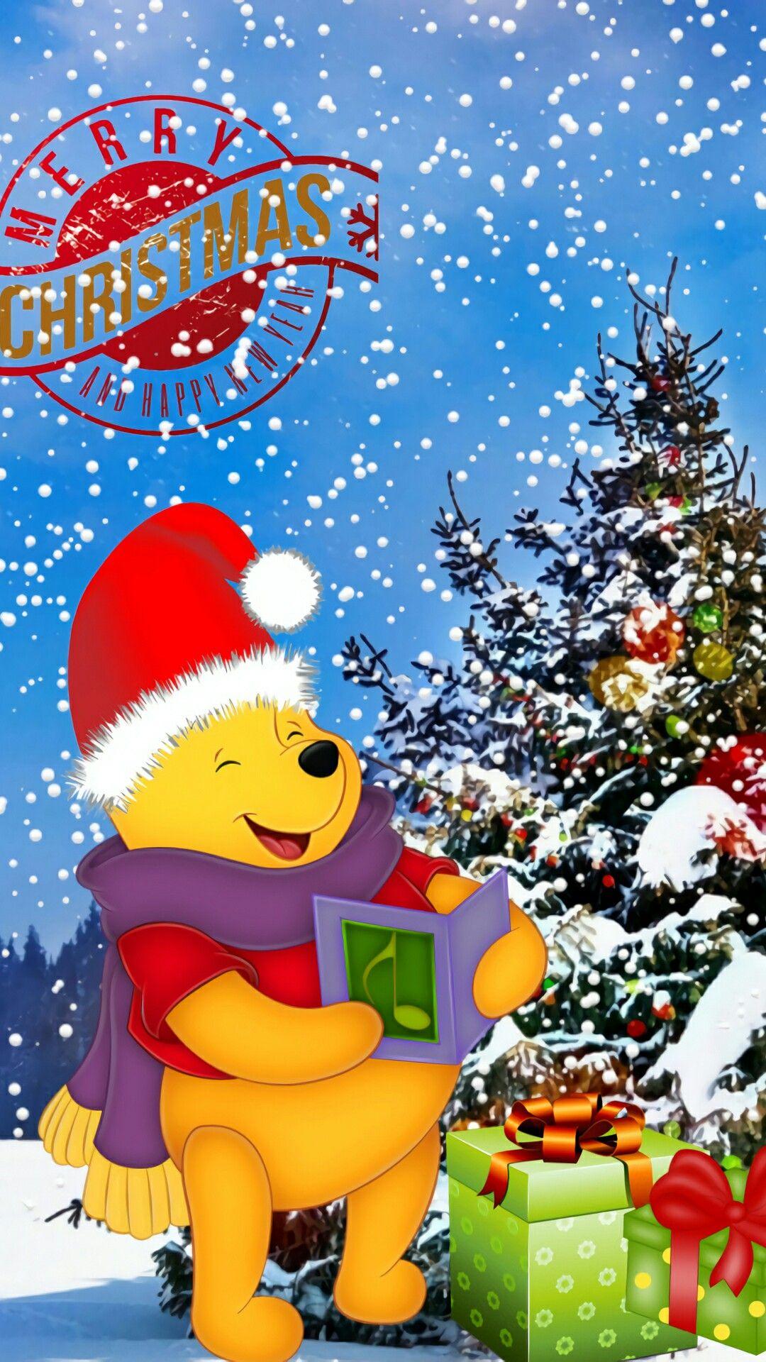 Merry Christmas Winnie The Pooh Christmas