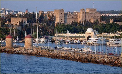 """My daughter writes:  """"Rhodes, Greece: Where my grandma would wait for her father to come home"""""""