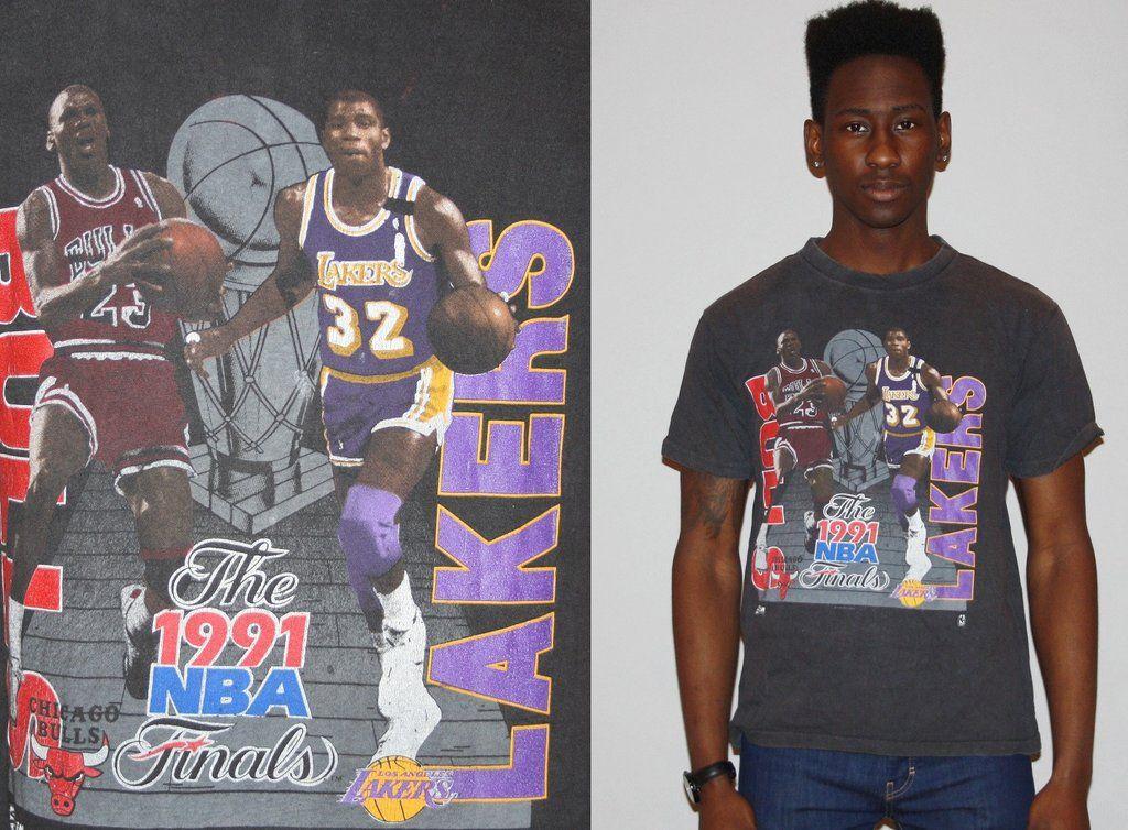 Rare!!! Vintage 1991 Michael Jordan T-shirt Basketball Chicago NBA Chicago Bulls F0zskMDC4