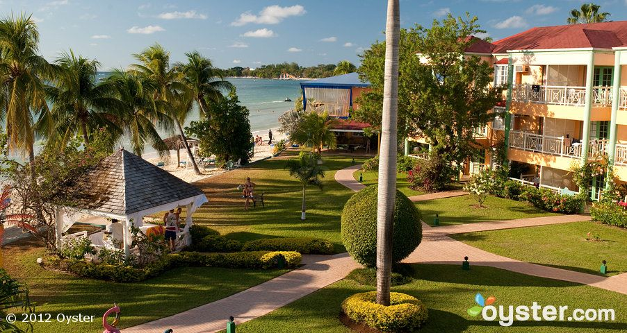 Beaches Sandy Bay View Of Resort Buildings Home Away From Home Jamaica Pictures Beach Resorts Negril Jamaica