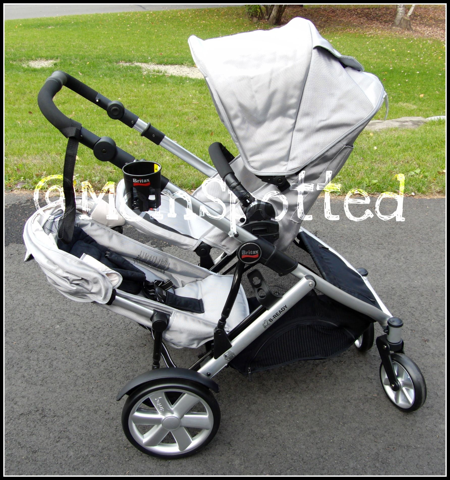 Britax B READY rfect in line double stroller for moms with