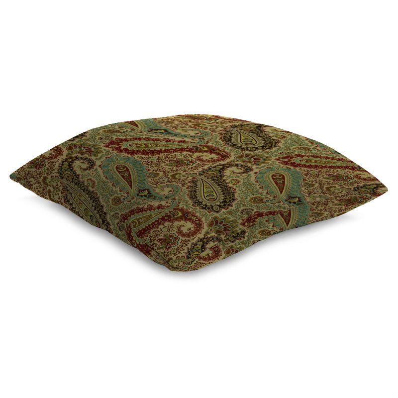 Jordan Manufacturing 26 x 26 in. Paisley Floor Pillow - 9995PK1-I1862G