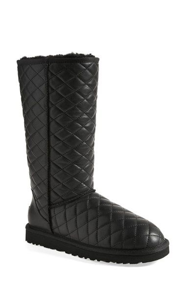 Free shipping and returns on UGG® 'Classic - Tall' Diamond Quilted ... : quilted tall boots - Adamdwight.com