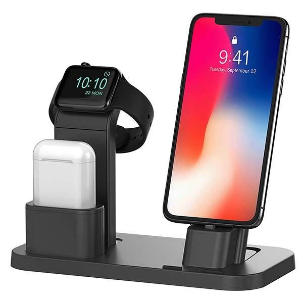 Beacoo All In One Charging Station For Iphone Le Watch And Airpods