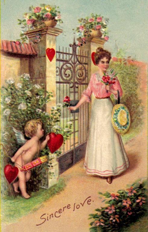 by Cupid's Victorian Valentine Art & Postcards