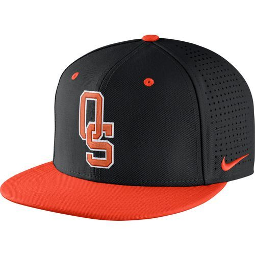 quality design d4050 a0b67 Nike Men s Oklahoma State University Aerobill True Fit Cap (Black, Size  Flex Fit) - NCAA Licensed Product, NCAA Men s Caps at Academy Sports