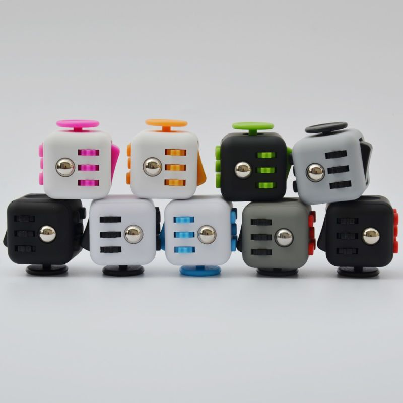 Buy FidgetCube That Matches Your Style Fidget Cube Is Available In 10 Different Color Schemes Dice Graphite Midnight Aqua Sunset Berry Fresh Retro