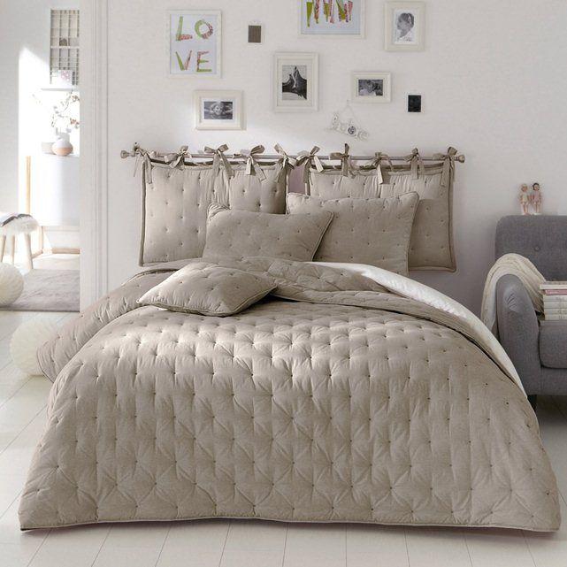 Colcha bordada aeri la redoute interieurs quartos pinterest cabeceiras cabeceiras de - Testata letto cuscini ...