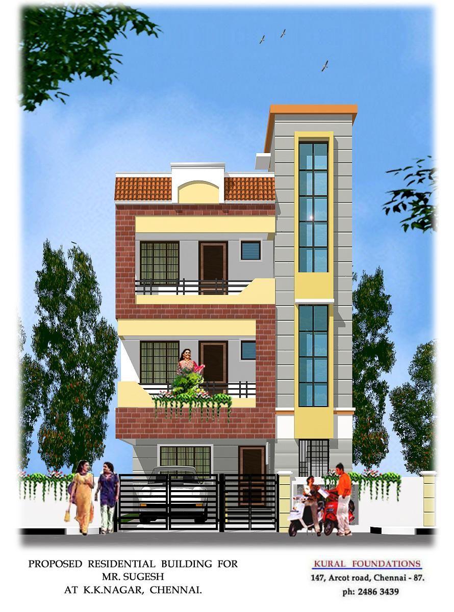 Small House Elevation Design Duplex House Design Latest House Designs: Small House Front Design, Village House Design, House Front Design
