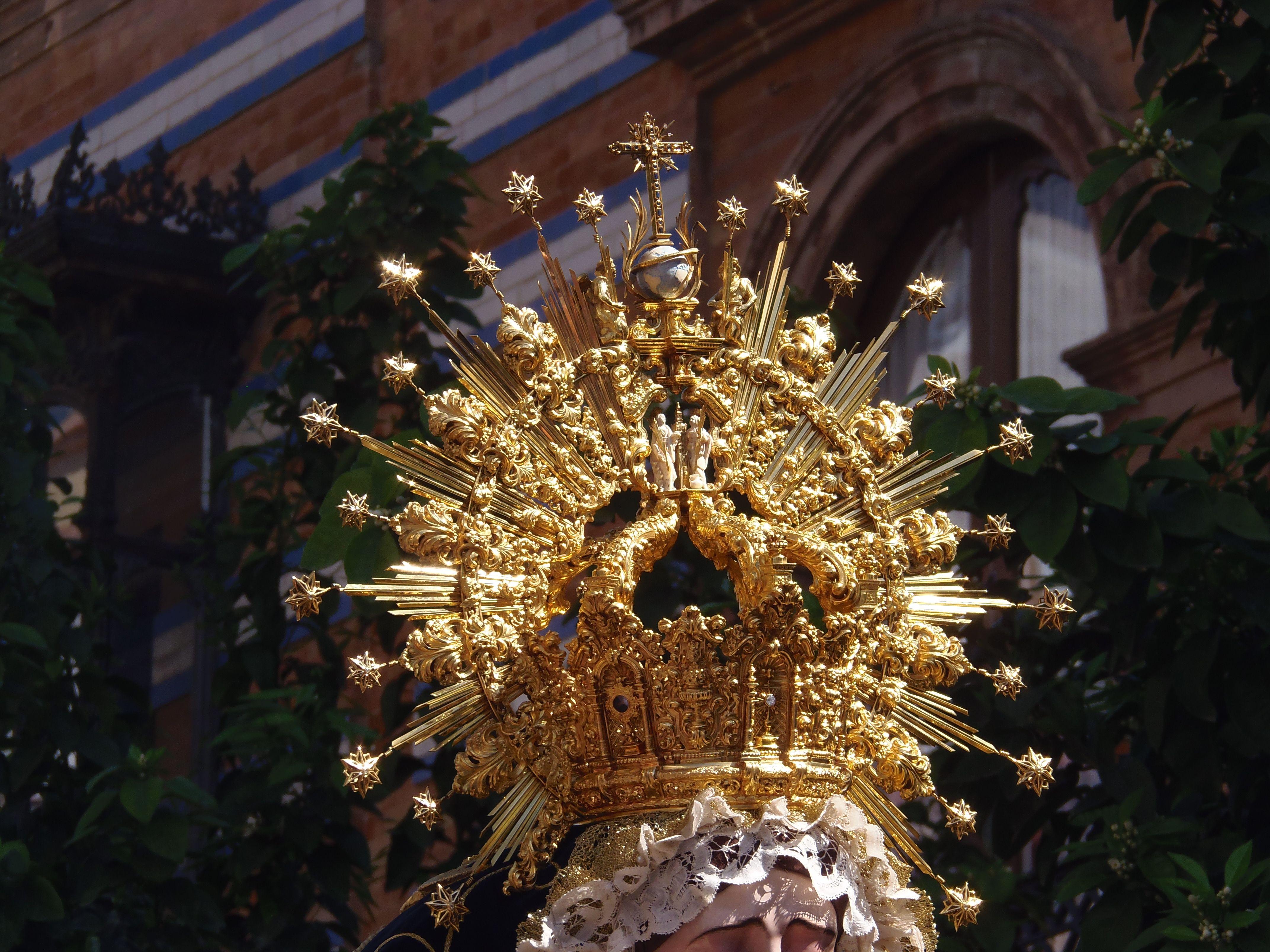 Corona Virgen De La Estrella Sevilla Coronas Semana Santa