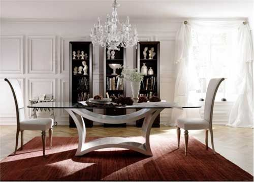Contemporary Glass Dining Room Tables Magnificent Tzarmodernglassdiningtablebyselva  For My Home Someday Review