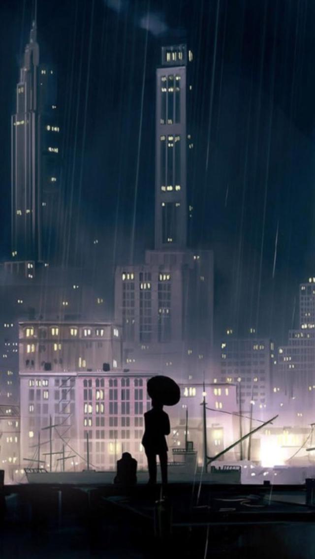 Anime Iphone Background Rainy Wallpaper Iphone Anime Wallpaper Iphone Iphone Wallpaper Images