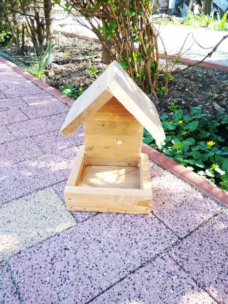 Simple Bird Feeder Free Outdoor Plans Diy Shed Wooden Playhouse