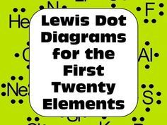 Lewis Structures Valence Electron Diagrams For 1st 20 Elements Distance Learning Physical Science Lessons Teaching Chemistry Chemistry Teacher