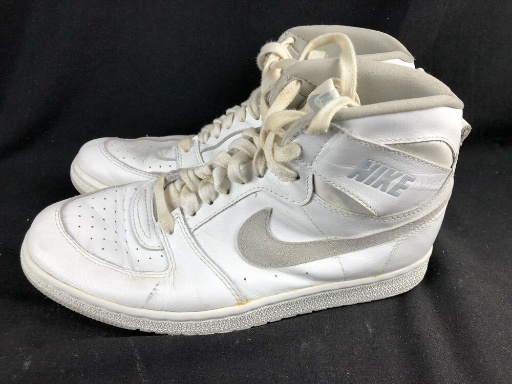 Vintage 80s Nike Hi Top Shoes Team