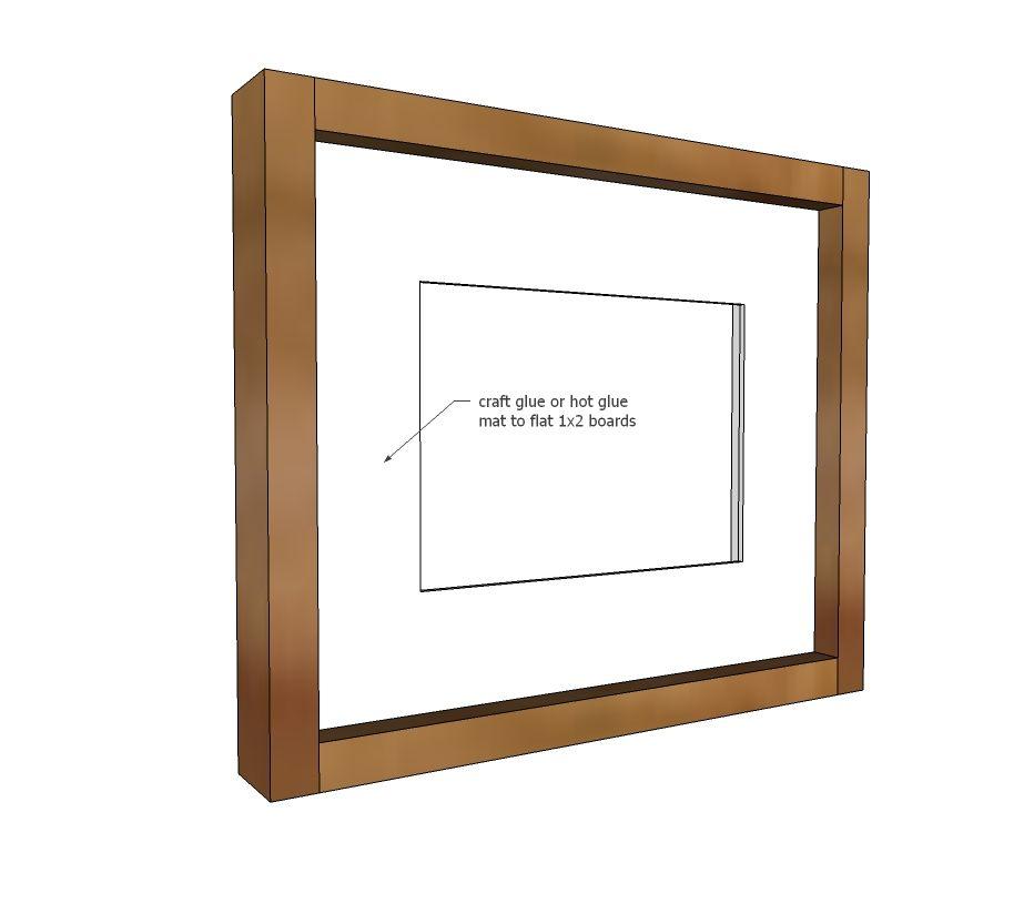 Simple Wood Gallery Frame Plans Wood Gallery Frames