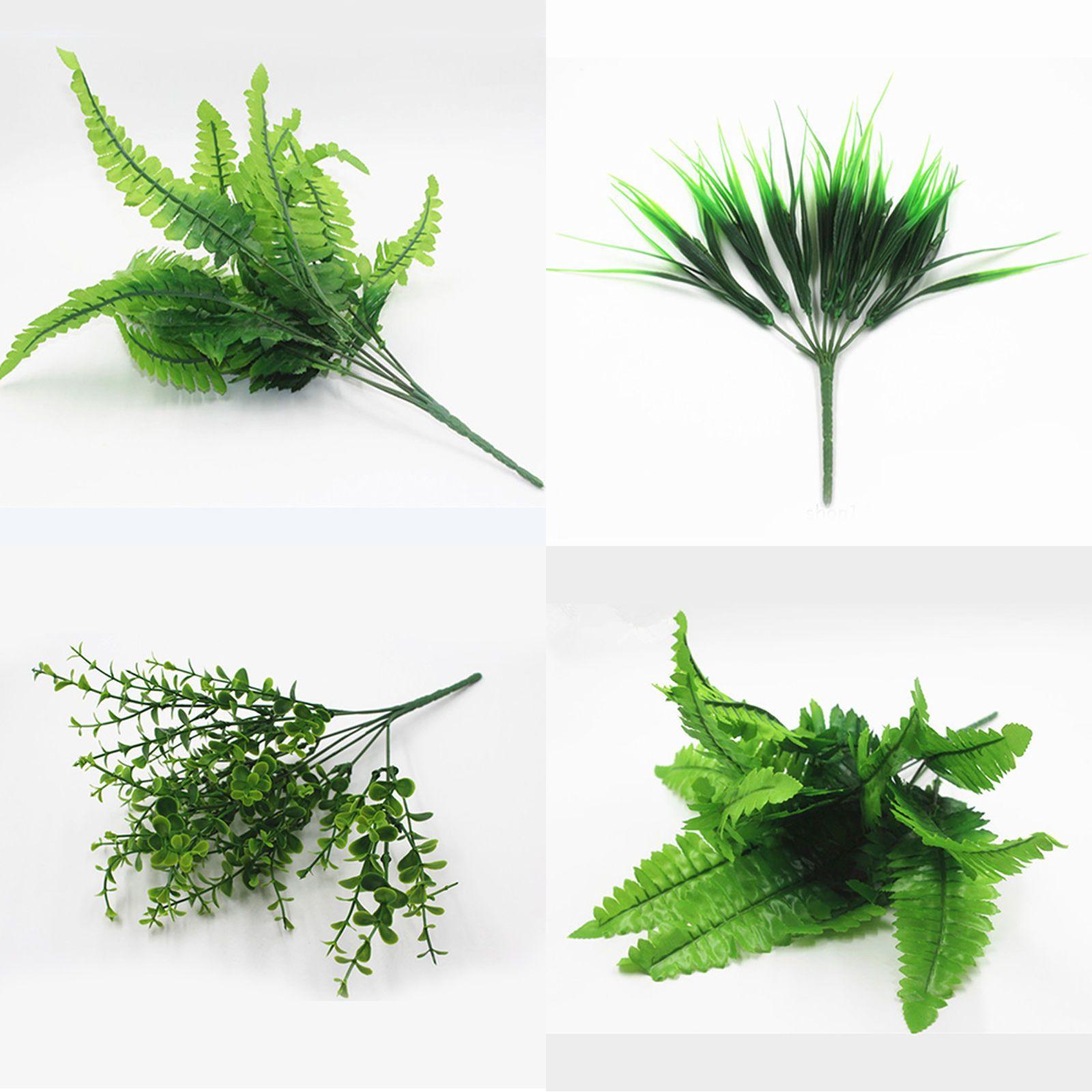 Best Artificial Plants Fake Leaf Foliage Flower Foliage Home Office Garden Decor