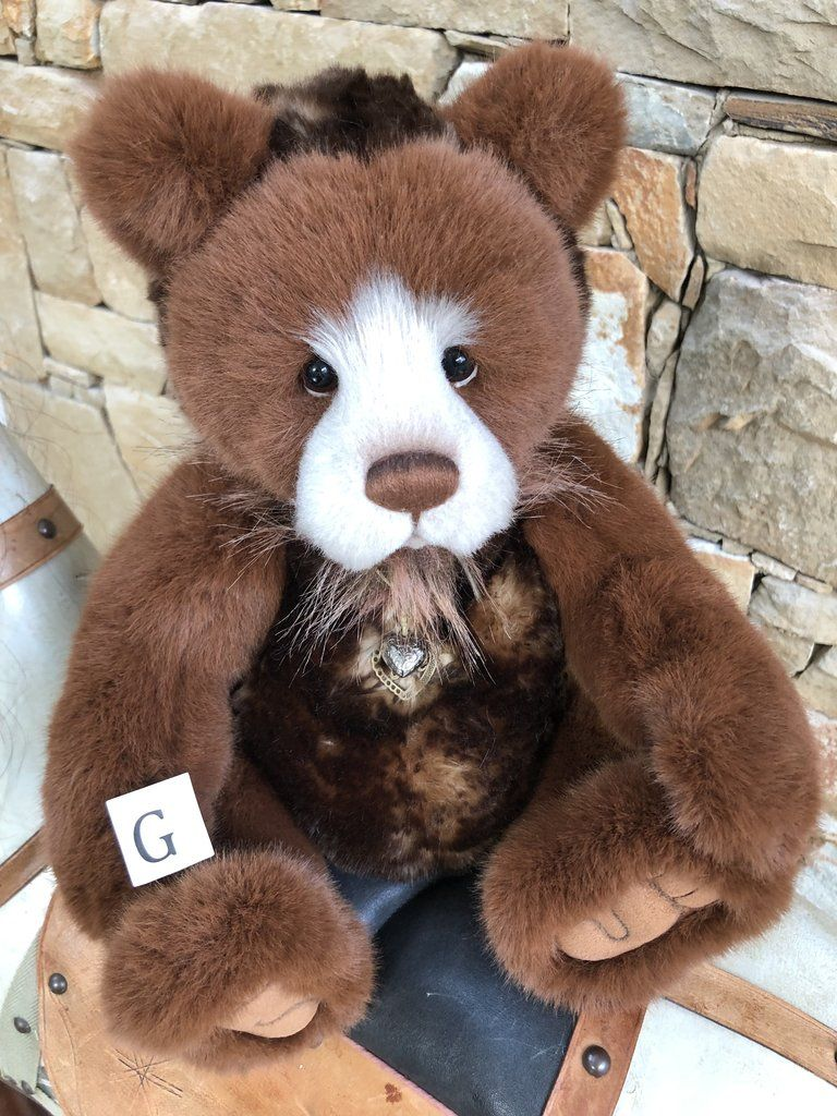 Plush 2018 Pamper New Charlie Bears