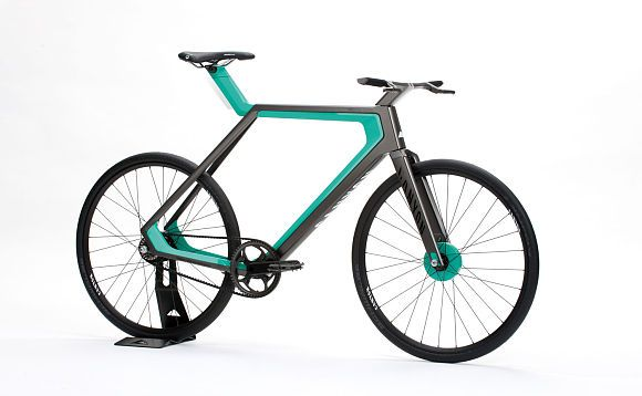 E-Bike Pedelec Designstudie Elektro-Concept-Bike Urban