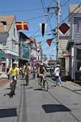 Commercial St. in Provincetown.