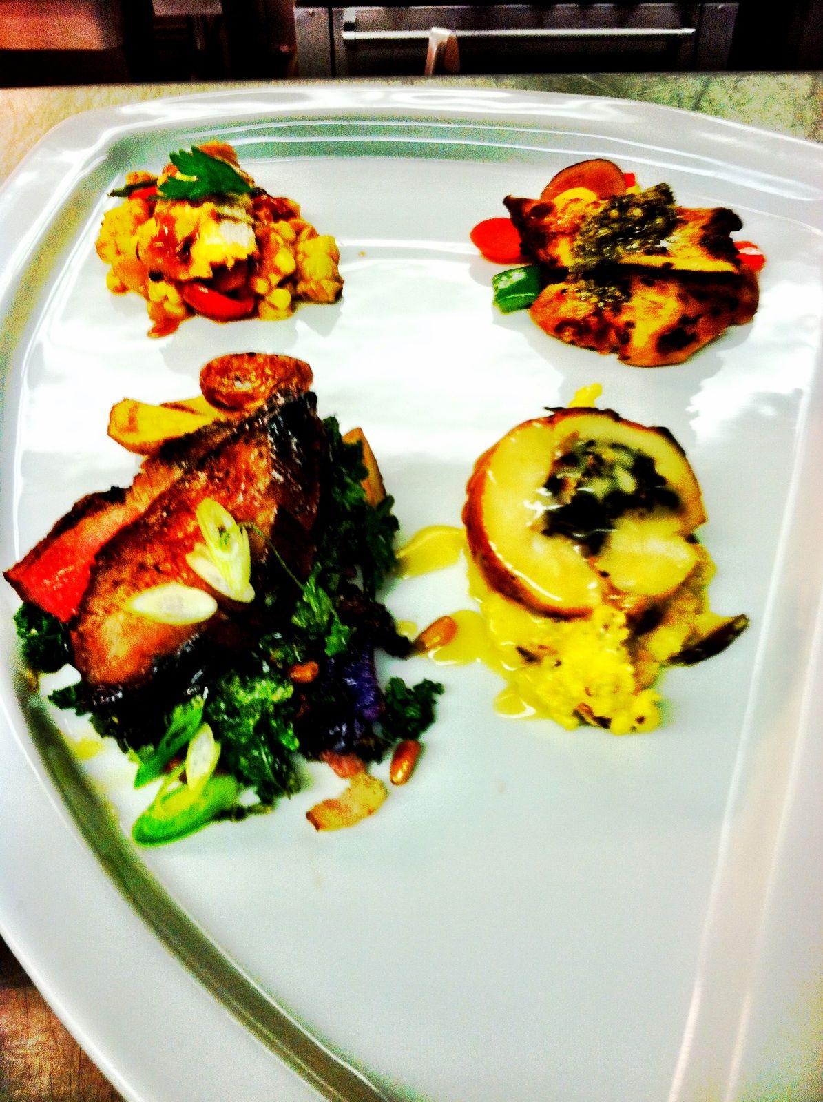 Chili Churi Chicken Dijon Apple Chicken Chicken Balentine Soy Molasses Flank Steak