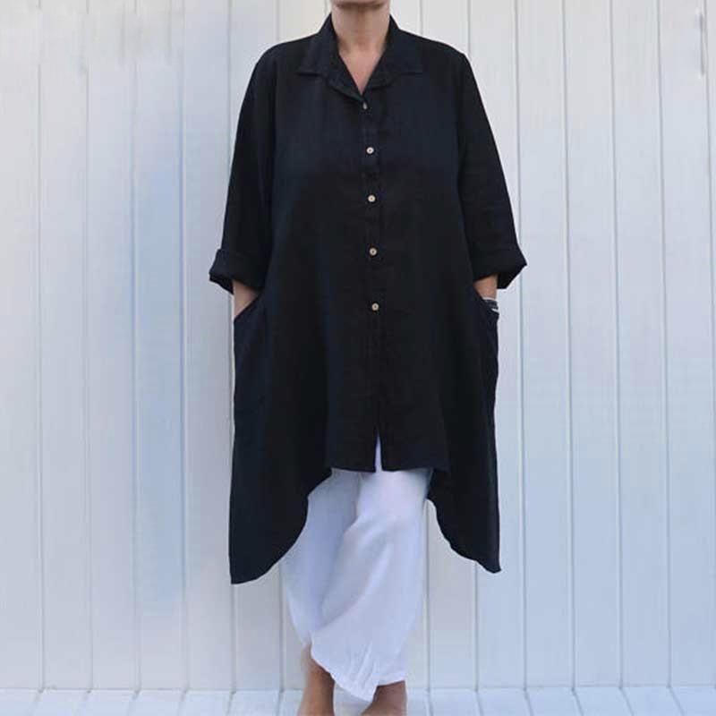 652b1d30a81 Women s Cotton Linen Artist Tunic Top solemate-mt.com  solemateMT  linen   tunic  artisttunic  musthave  summer  style
