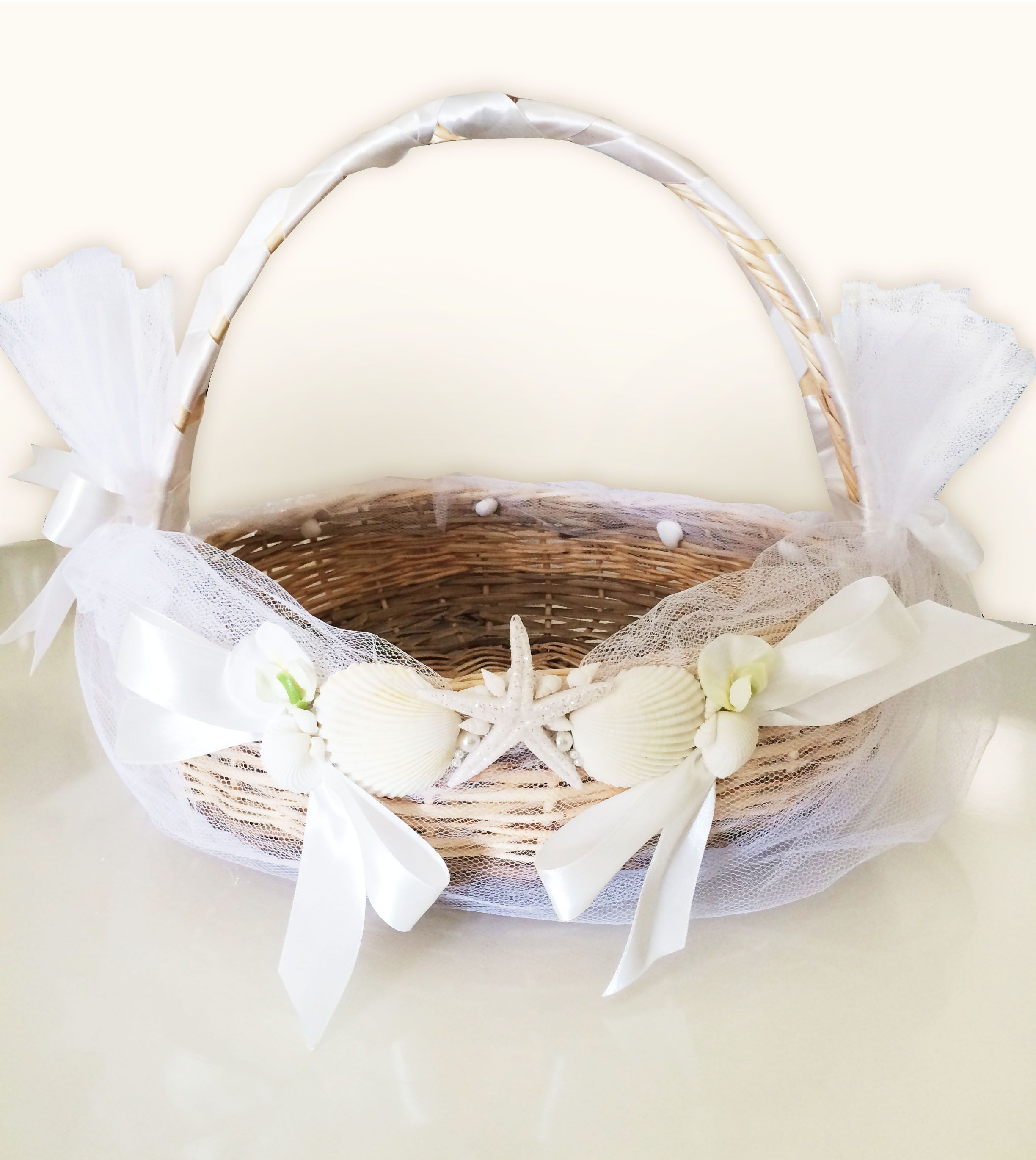 Sea style basket for a wedding favors . Created&made by me. #wedding ...