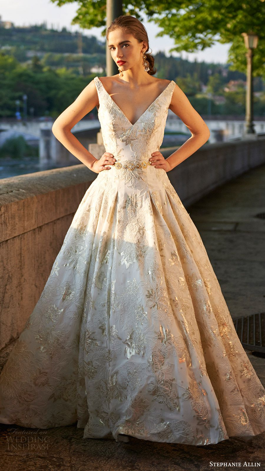 Stephanie Allin 2017 Wedding Dresses Bellissimo Bridal Collection ...