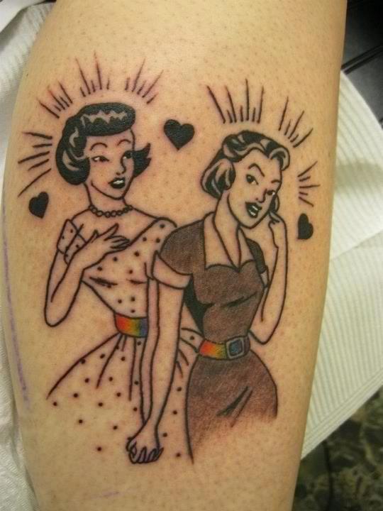 Lesbian tattoo artist