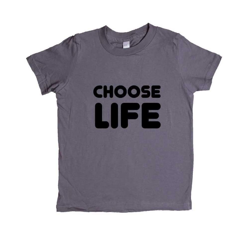 Choose Life Song Songs Reference Verse Wham Musician Bands Band Music Concert Concerts SGAL10 Unisex Kid's Shirt