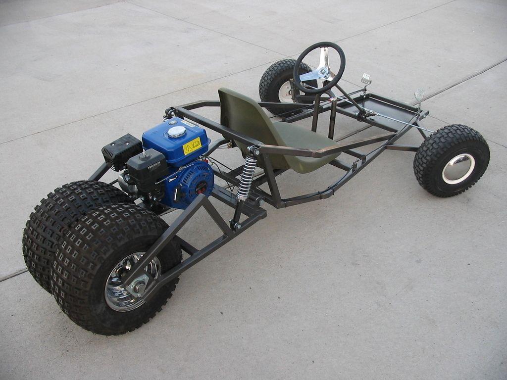 Design of car frame - Go Kart Blue Prints