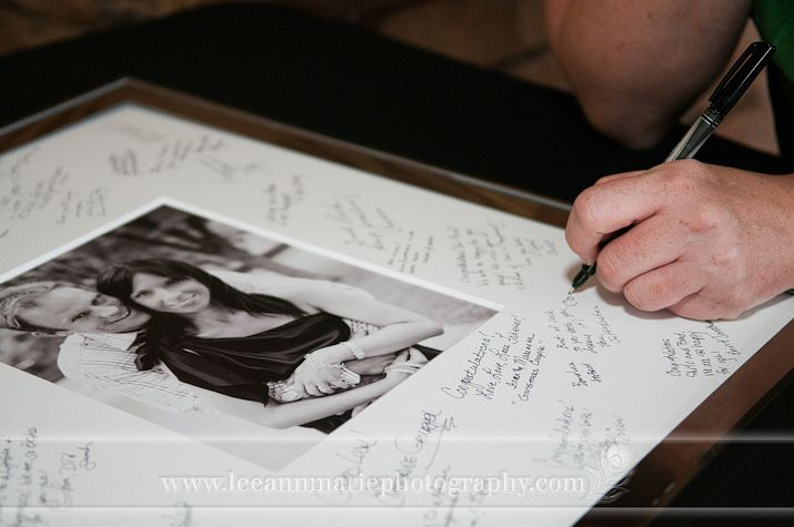 instead of a guest book