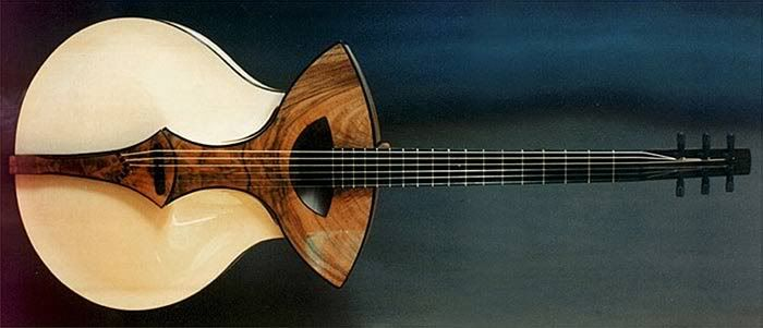 Experimental Guitar Design The Acoustic Guitar Forum Guitar Guitar Design Unique Guitars