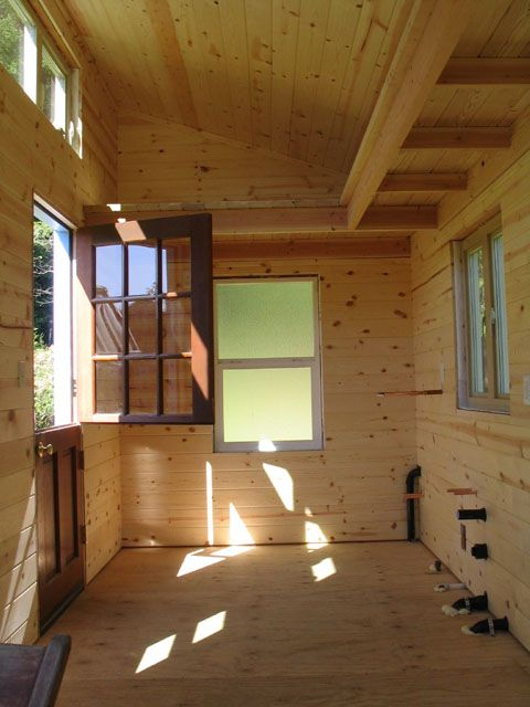 Dutch Door In A Tiny House Shed To Tiny House Tiny