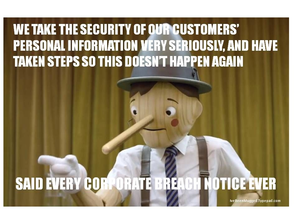 Securitybreach Datasecurity Motionqr Geico Pinocchio With
