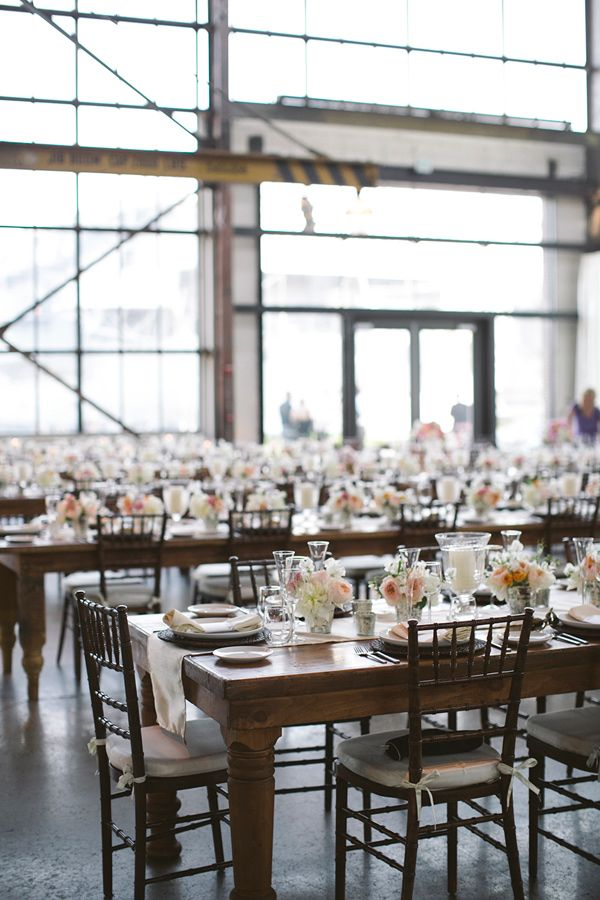 Urban Outfitters Wedding, Love These Farmhouse tables