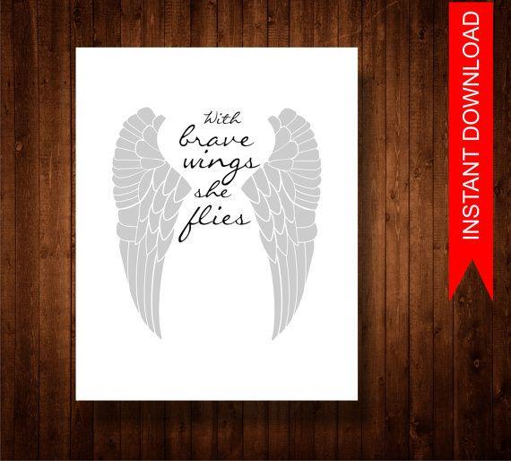 Downloadable German Tattoo Sayings: Printable Quote ,Printable Art, INSTANT DOWNLOAD, Angel