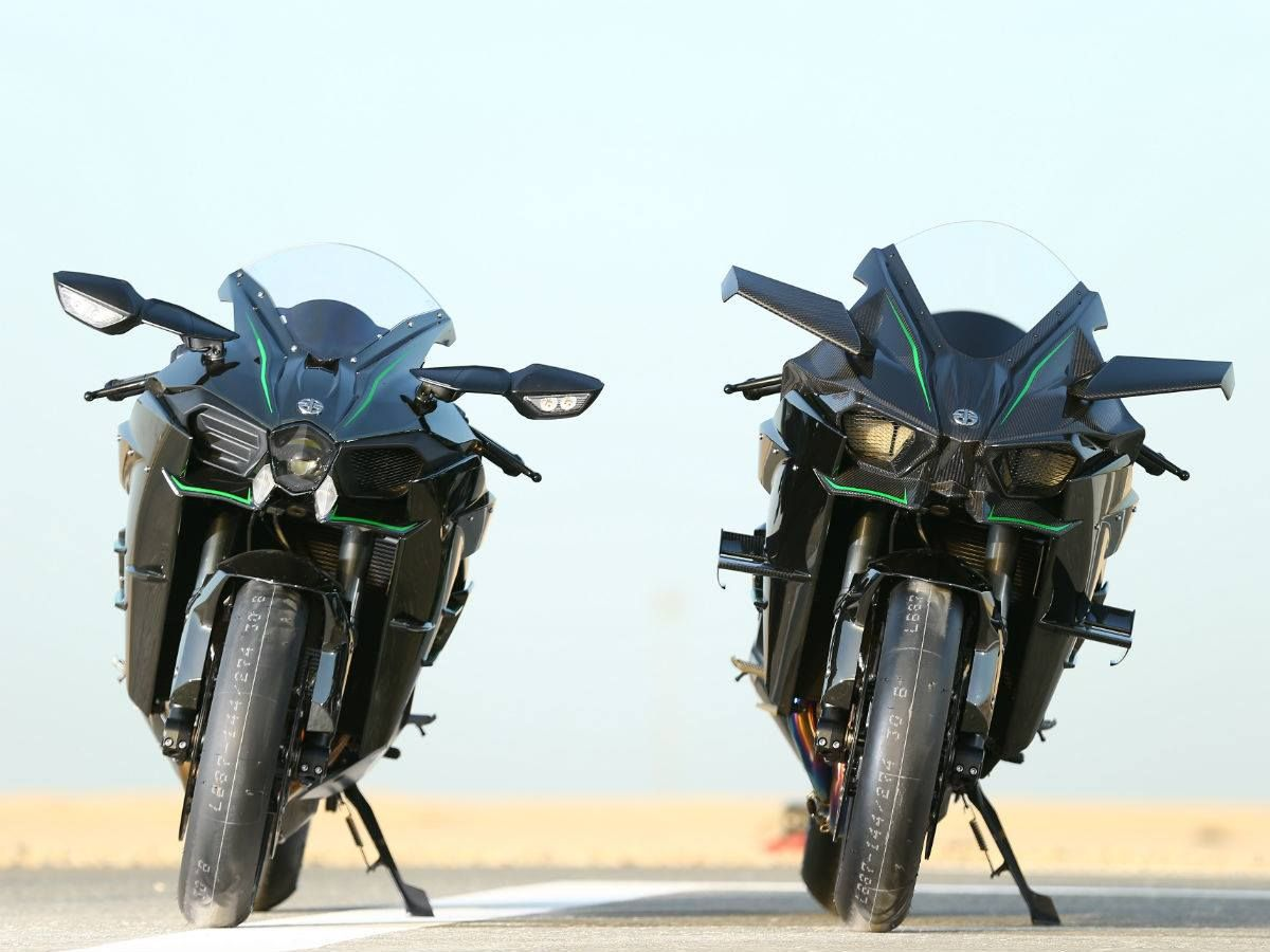 Ninja H2 and H2R ,Losail International Circuit, Qatar.