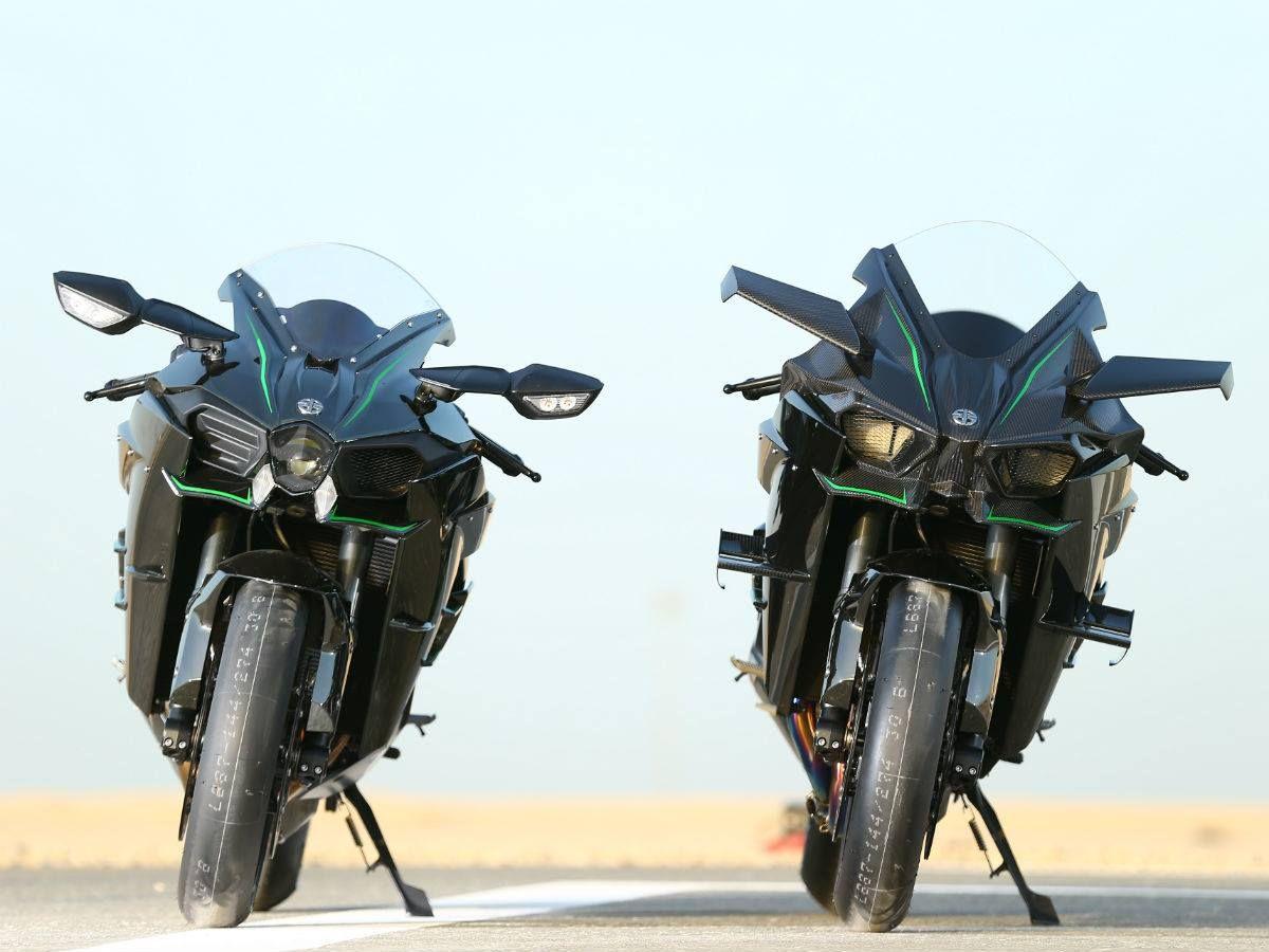 Ninja H2 and H2R ,Losail International Circuit, Qatar.