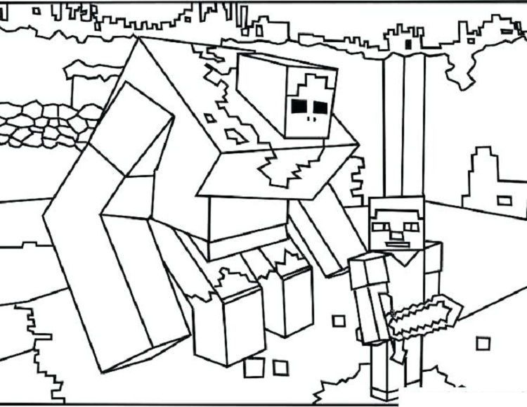 Minecraft Coloring Pages Mutant Zombie Minecraft Coloring Pages Lego Coloring Pages Monster Coloring Pages