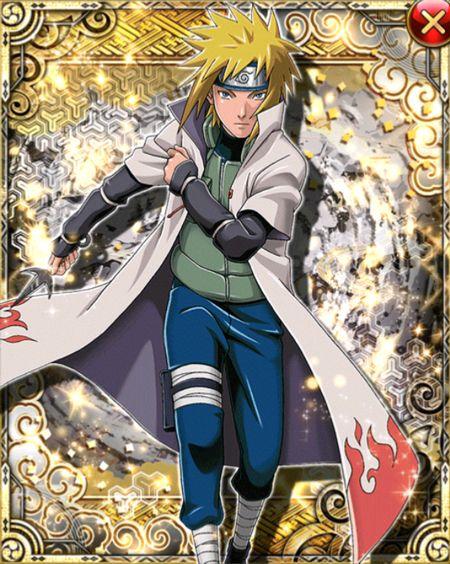 Minato Namikaze Card 09 By Aikawaiichan Deviantart Com On Deviantart Naruto Shippudden Naruto Characters Naruto Shippuden Anime