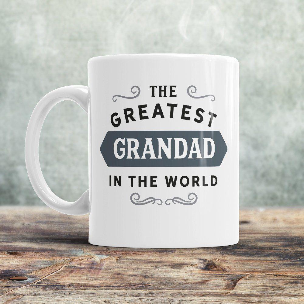 Grandad Gift, Birthday Gift For Grandad! Greatest Grandad, Grandad Mug, Grandad Present, Birthday Gift, Gift For Grandad! Awesome Grandad